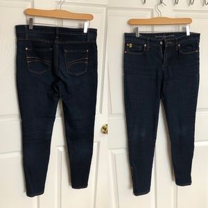 Second yoga jeans with ankle zips